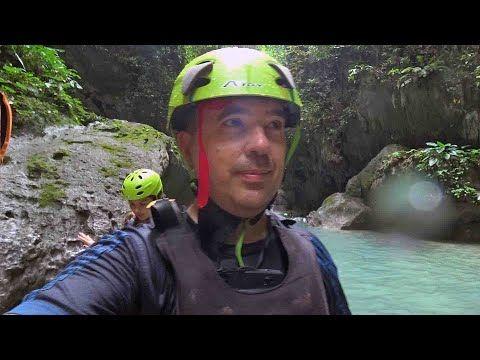 Canyoneering in Cebu Philippines