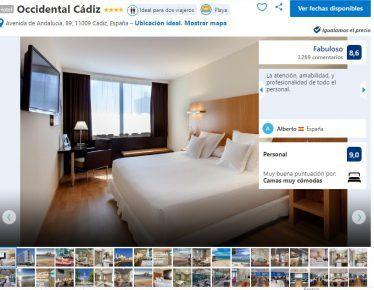Hotel Occidental Cádiz