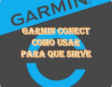 Aplicación Garmin conect
