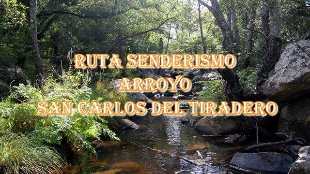 🥾 Sendero Arroyo San Carlos del Tiradero  🥾 sierra de cádiz
