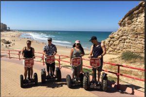 Recorrido de 1.5 horas en Segway por la playa de cádiz