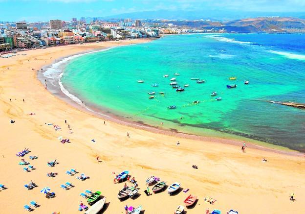 ▷ 🌊 Playa de Las Canteras ✅ Lo que debes saber antes de ir 🏖️ chipiona